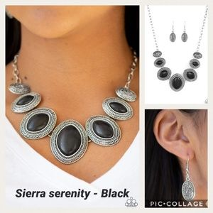 Sierra Serenity Black Necklace
